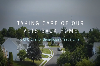 Screenshot of opening screen to cfc beneficiary video