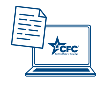 computer icon with CFC logo
